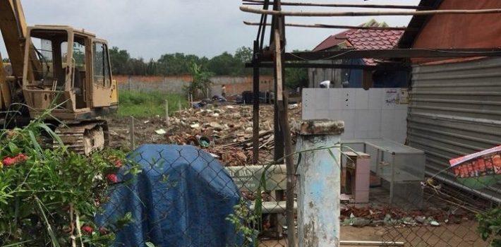 Kẹt tiền bán lô đất thổ cư xã long thới 20tr/m2