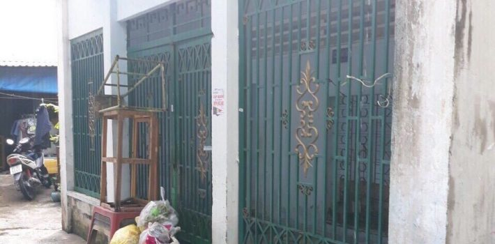 Bán nhà cũ hẻm 1283 Huỳnh Tấn Phát 16x6m tiện xây DSH