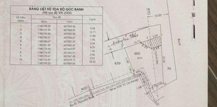 286m2 đất lớn xây trọ, dsh giá rẻ cực tốt chỉ 3.5 Tỷ