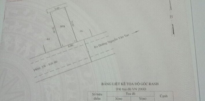 Đất 8×20 đường 6m giá đầu tư cực tốt chỉ 22.5tr/m2