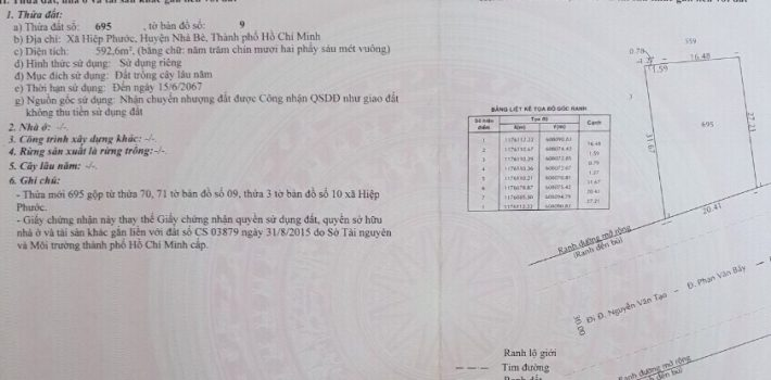 170m2 mặt tiền Phan Văn Bảy chỉ 55tr/m2 cực tốt ĐT