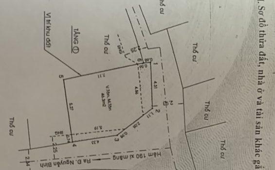 Căn góc HXH ngay gần UBND Huyện Nhà Bè chỉ 2.55Ty