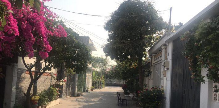 Đất mặt tiền HXH Phạm Hữu Lầu gần cầu Phú Long