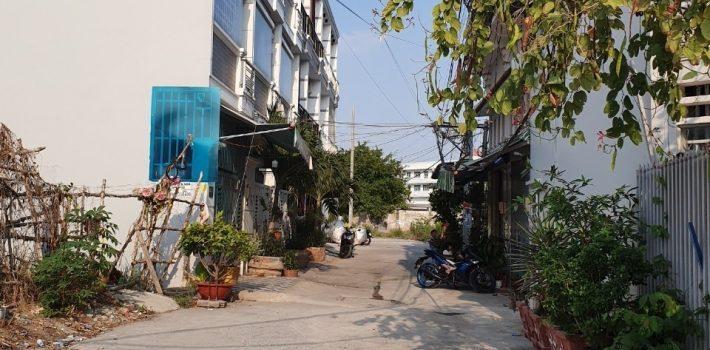 80m2 hẻm nhà văn hóa thiếu nhi gần UBND nhà Bè 2.35 Tỷ